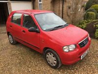 05 plate suzuki alto gl 70k miles, Cheap Car Bargain!, long MOT