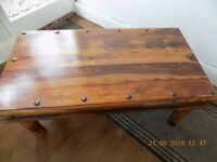 Lovely Indian Wood Coffee Table