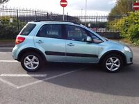 DIESEL 4 WHEEL DRIVE SUZUKI S CROSS SX4 DDiS ONLY 60000m GREAT FAMILY SIZED CAR / MPV P X WELCOME