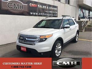 2011 Ford Explorer LIMITED AWD NAV PANO CAM *CERTIFIED*
