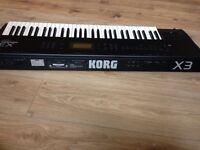 KORG X3 Musical Keyboard Workstation