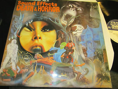 SOUND EFFECTS VOL 13 death and horror lp '77 Halloween!](Halloween Sound Effects Horror)