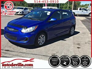 2012 Hyundai Accent GLS  FINANCEMENT DISPONIBLE