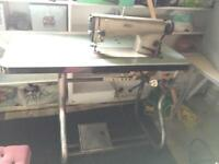 Heavy duty PFAFF Industrial sewing machine working perfect very reliable PRP £1500 NO OFFERS