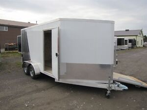 2017 Mission Trailers 7 ' x 19' ALL ALUMINUM SLED TRAILER