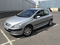 2001 PEUGEOT 307 WITH MOT , VERY CLEAN DRIVES LIKE A DREAM