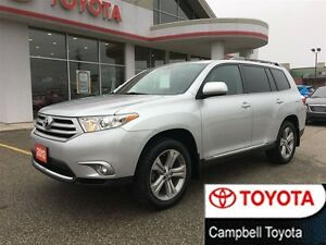2012 Toyota Highlander SPORT EDITION AWD--HEATED LEATHER--ROOF