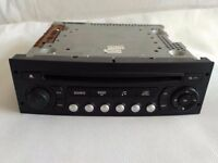 Peugeot 207 307 807 Expert Citroen C2 C3 Berlingo Radio CD Player VDO RD4