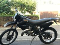DERBI SENDA X-RACE FAST AND A GOOD DEAL L, BRILLIANT FIRST BIKE