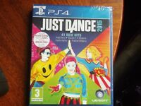 PS4 GAME JUST DANCE 2015 SEALED