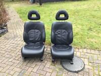 MITSUBISHI SHOGUN/L200 LEATHER SEATS