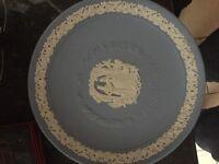 Wedgewood Blue Wedding Day Plate