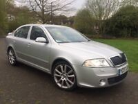 2007 SKODA Octavia 2.0 TDI PD VRS 170BHP Xenon lights Sports Seats Front & Rear parking sensors