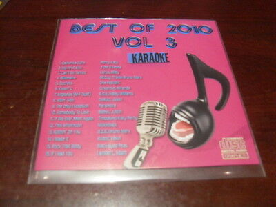 BEST OF 2010 VOL 3 KARAOKE DISC B10-03 CD+G POP KATY PERRY PARAMORE ONE