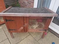 Rabbits hutch vgc 20 pound