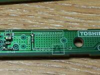 Toshiba 40rv753 Remote IR SENSOR Board pe0829