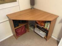 Corner desk - good size, used but good condition