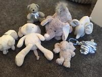 Mamas and papas marks and Spencer's jellycat variety of brand new teddys