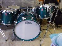 PREMIER GENISTA PROFESSIONAL DRUMSET..STRAIGHT SWAP FOR RANGE ROVER OR SIMILAR