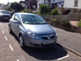 2009 Vauxhall Corsa Design Petrol 1.2 Silver 3dr