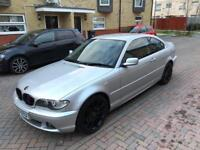 2005 05, E46 BMW 2.2 320ci SE AUTO FACELIFT, 132K, 4M MOT, FSH, LEATHERS, 18in MV2 ALLOYS
