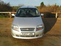 CHEVROET KALOS SX. 1.4 16V 2008 5 DOOR. FULL MOT. (15/12/18). TIDY. £595