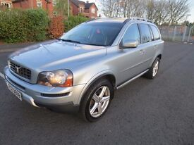 2007 Volvo XC90 2.4 Se SPORT AWD 185 BHP ~ SUNROOF ~ TOW BAR ~ PRIVICY GLASS ~ FULL LEATHER SEATS ~