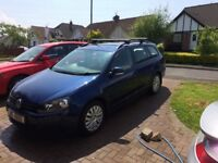 REDUCED!!! REDUCED 2010 mk6 VW golf estate 1.6 TDI, 1 years mot £30 tax for year