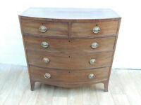 Antique Original chest of drawers (Delivery)
