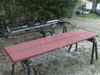 VERY NICE PAIR OF 9FT STEEL RAMPS (14IN WIDE) IDEAL TRAILER / TRUCK ETC..