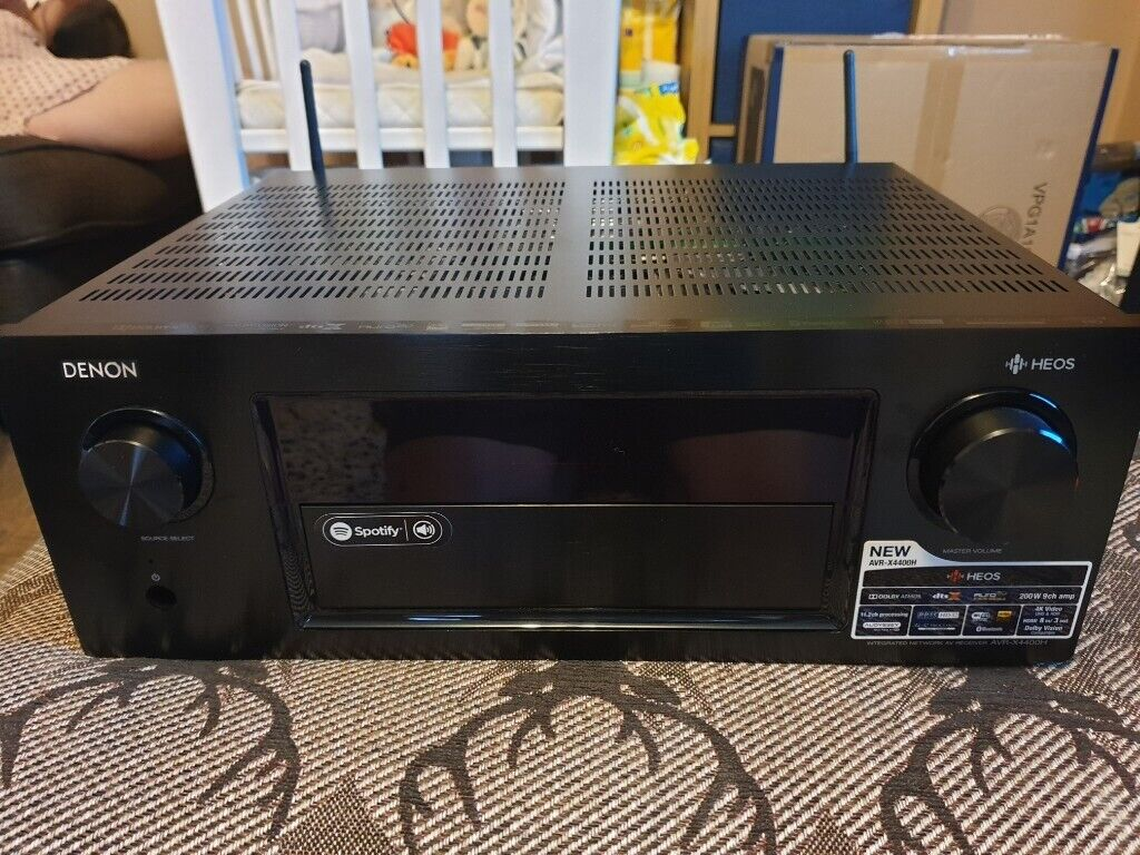 Denon avr-x4400h AV receiver 9 2 ch Dolby Atmos 1 year warranty | in  Swanley, Kent | Gumtree