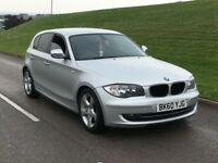 2010 60reg BMW 1 SERIES 2.0 118d SE 5dr FACE LIFT START & STOP***HIGH MILES 12 month mot 120d a3