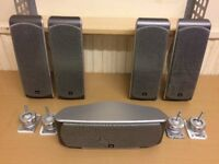 JBL SCS260 Home Cinema Five Speakers, High Quality Crystal Clear Sound, All Fully Working.