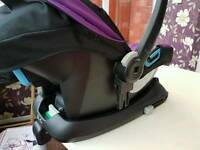 Silver Cross 3d car seat and isofix base