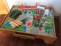 ELC train table and accessories