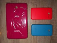 Brand new Alcatel One Touch Pixi 3 Phone and Tablet back covers