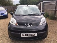 PEUGEOT 107 1.0 URBAN HATCHBACK 3DR 2008 * IDEAL FIRST CAR*CHEAP INSURANCE* ONLY £20 ROAD TAX A YEAR