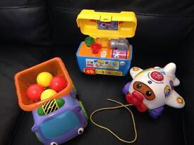 3 excellent condition branded Baby toys