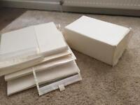 8 Ikea shoe storage boxes