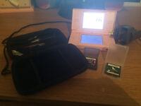 Nintendo DS lite & 2 games