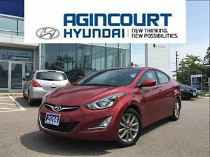 2014 Hyundai Elantra GLS/SUNROOF/BACKUP CAM/HEATED REAR SEATS/OF