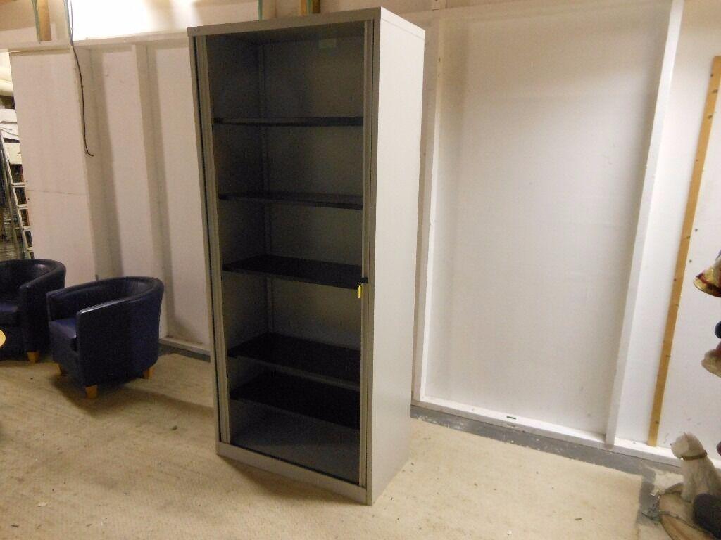 metal 5 shelf tool storage cupboard with 5 adjustable shelves ...