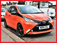 £0 TAX (14800 Miles)-- 2014 Toyota Aygo 1.0 VVT-i x-cite -- 5 Door --CHEAP on Fuel & insurance PX OK