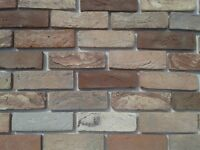Brick Slip Tiles Neo Antik. Colour WDF443B HAND MOULDING