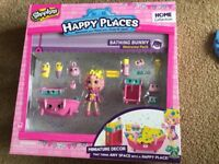 Shopkins Happy Places Bathing Bunny pack brand new
