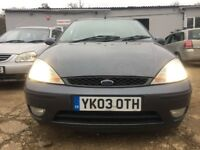 FORD FOCUS 1.8 TDCI GHIA 5 DOOR QUICK SALE CHEAP