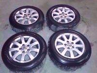 "MK5 VW GOLF PLUS LUNA TOURAN PASSAT JETTA 15"" ALLOY WHEELS WITH TYRES 5X112 195/65/R15"
