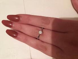 0.4ct Diamond Engagement Ring