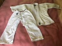 Children's judo kit size 150, used
