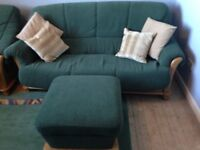 Free to uplift 3 seater sofa and chair